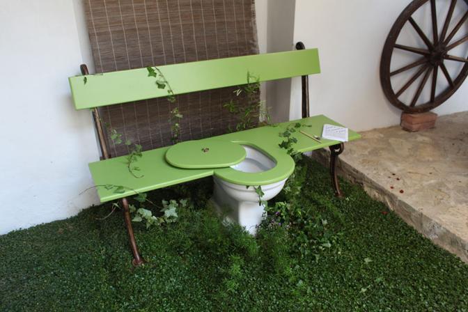 """[FOTO] WC reinventati in mostra a Firenze: eccone un """"assaggio"""""""