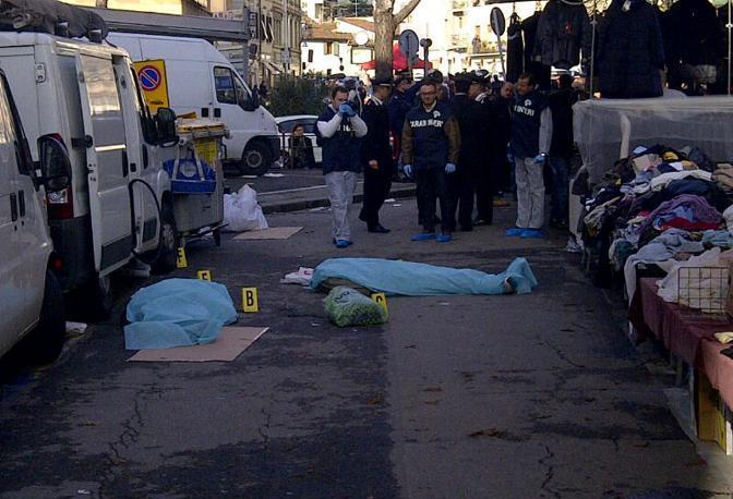 Un uomo di 50 anni ha aperto il fuoco al mercato di piazza Dalmazia, alla periferia nord della città. Poi nel pomeriggio ha sparato al mercato di San Lorenzo e si è ucciso