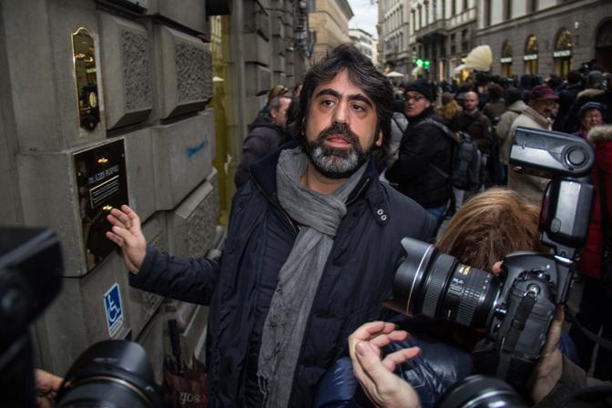 L'arrivo di Francesco Bonifazi per la riunione della segreteria Pd