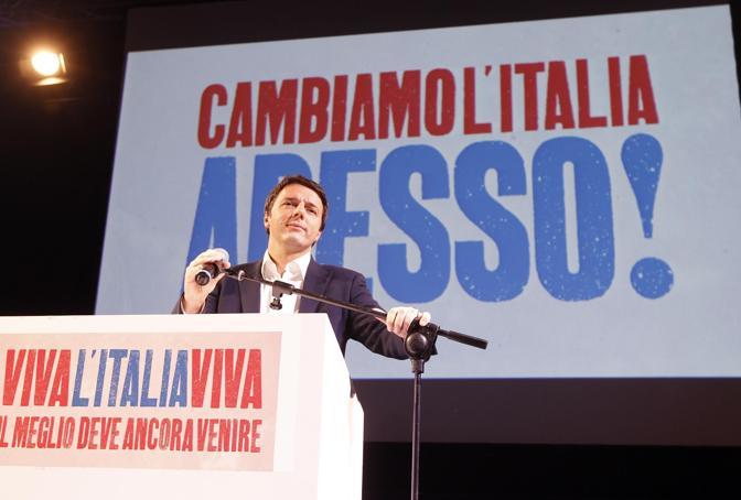 In corsa alle primarie contro Pierluigi Bersani