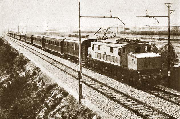 Altre immagini storiche della linea Direttissima
