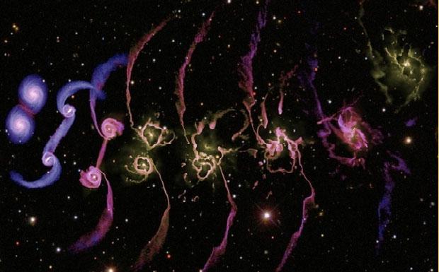 Рис 6 галактика млечный путь (модель)