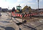 Il ponte? Chiuso - Ponte alla Carraia rimarrà chiuso fino a venerdì 22 febbraio a causa di alcuni lavori in sede stradale. (Foto di G. Cervone)