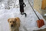 Sotto assedio - Palazzuolo sul Senio (437 metri di altitudine) assediata dalla neve