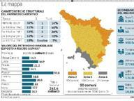 Terremoto, trecentomila case da controllare in Toscana