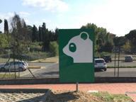 Il parcheggio del Meyer diventa uno zoo