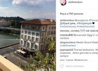 Nicolas Cage, Rania, la vedova Alì Firenze si riempie di star