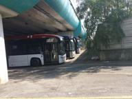 Saltano le corse e i bus sono in deposito