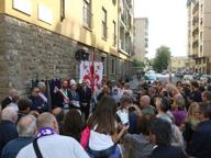 Fiorentina, una targa dove c'era il primo stadio