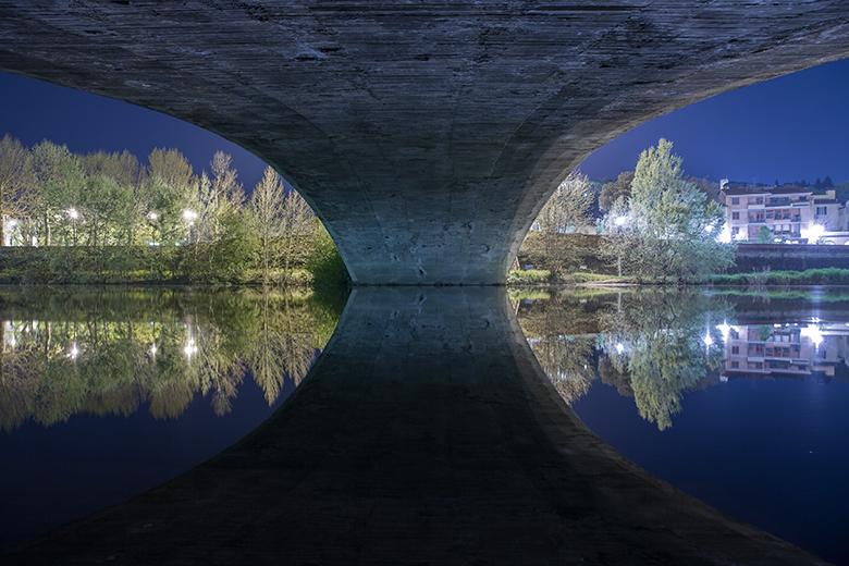 Da Falterona a Pisa: «Notturno Fluviale» sotto i ponti dell'Arno