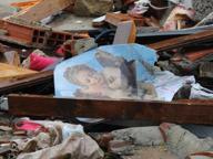 Bambole, libri e scarpe: a Villamagna è passata la guerra