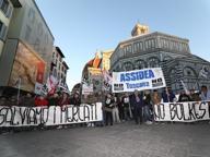 No Bolkestein, 200 ambulanti in piazza a Firenze