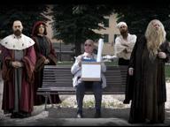 Uffizi, l'addio ironico dell'ex direttore Antonio Natali: un video in stile «Non ci resta che piangere»