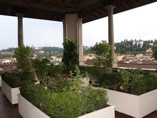 Firenze a palazzo vecchio fiorisce il giardino pensile in for Giardino in terrazza