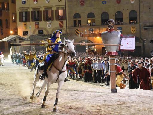 Arezzo, Giostra del Saracino, Porta Santo spirito spera nel triplete