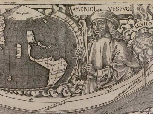 La prima volta dell'America Dal planisfero al web con Vespucci