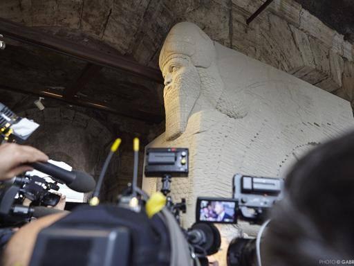 Il Toro di Nimrud rinato a Firenze