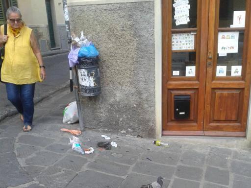San Niccolò, rivoluzione nel cestino