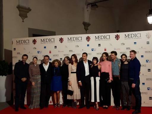 I Medici a Palazzo Vecchio E a Firenze è di nuovo febbre da star
